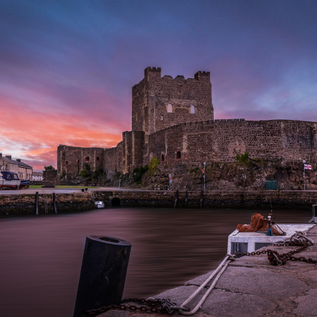 """Carrickfergus"" stock image"