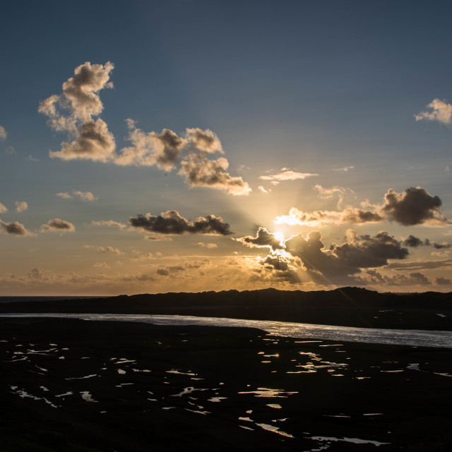 """Ogmore-by-sea"" stock image"