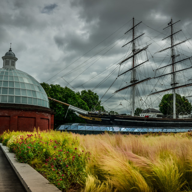 """Cutty Sark"" stock image"
