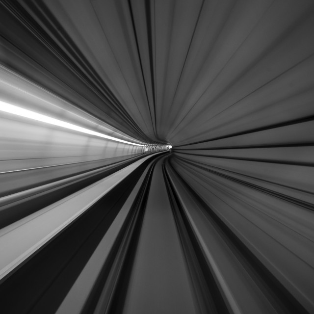 """Tunnel I"" stock image"