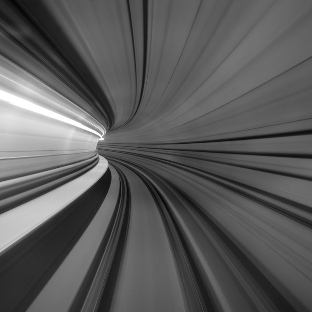 """Tunnel II"" stock image"