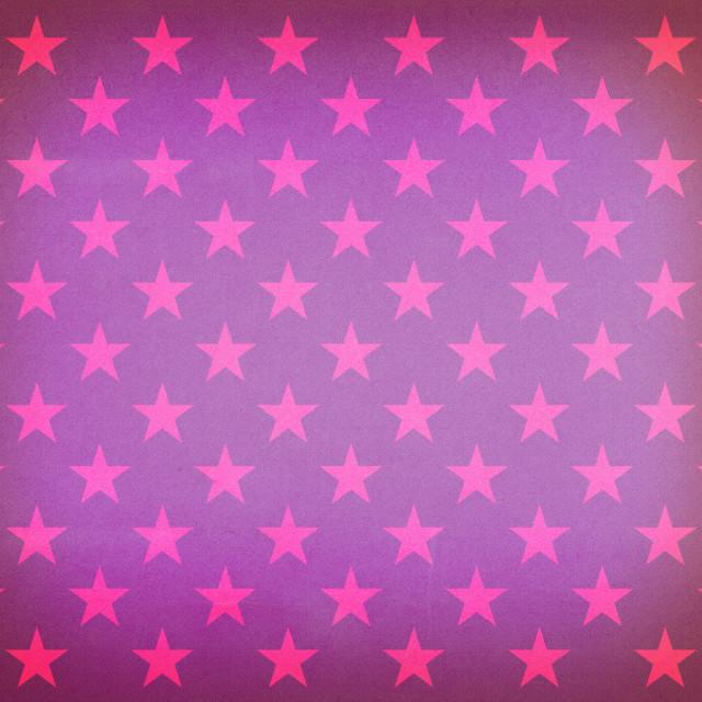"""""""Vintage purple stars pattern"""" stock image"""