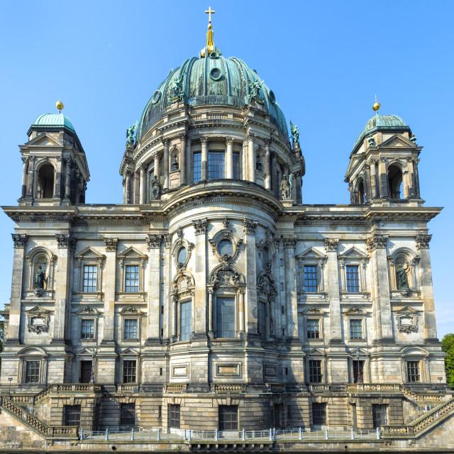 """Berlin Cathedral, Berlin, Brandenburg, Germany"" stock image"