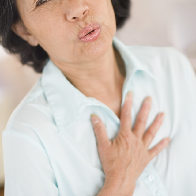 """Heartburn"" stock image"
