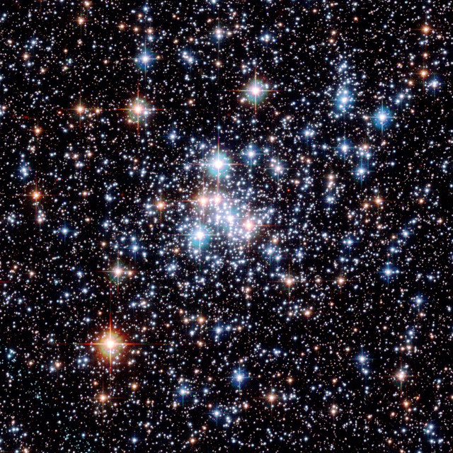 """Open star cluster NGC 290"" stock image"