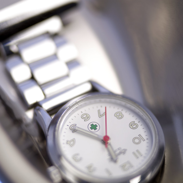 """Medical watch"" stock image"