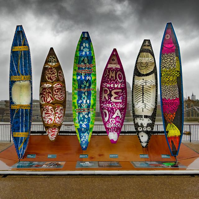 """Boat Display"" stock image"