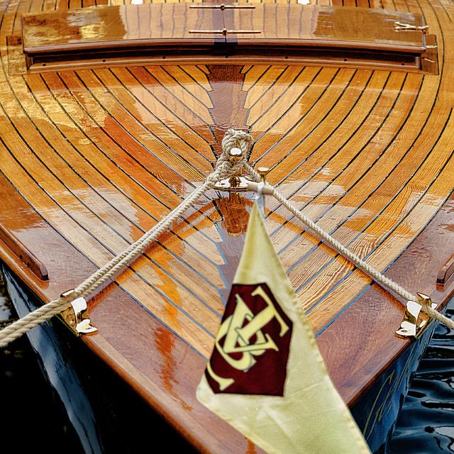 """""""Tender (boat)"""" stock image"""