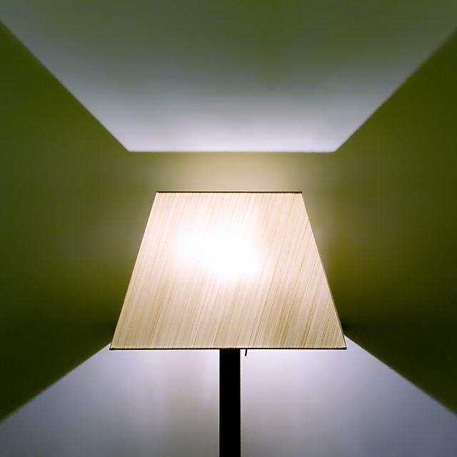"""Lampshade"" stock image"