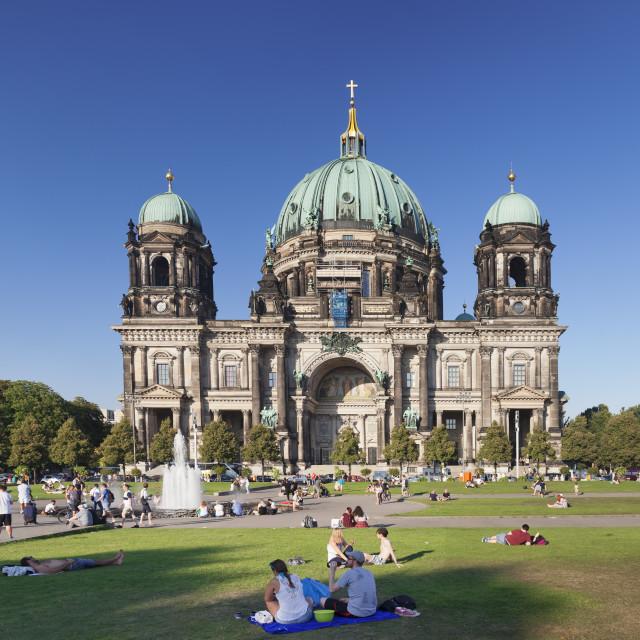 """""""Berliner Dom (Berlin Cathedral), Museum Island, UNESCO Weltkulturerbe, Mitte,..."""" stock image"""