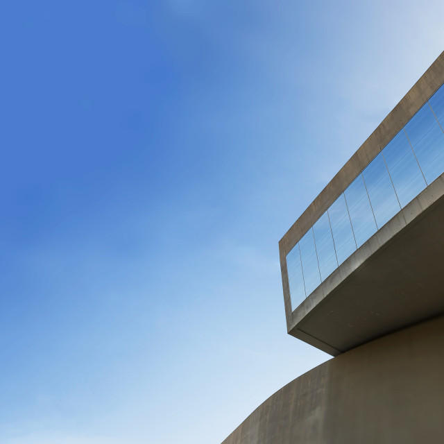 """""""Maxxi museum detail in Rome"""" stock image"""