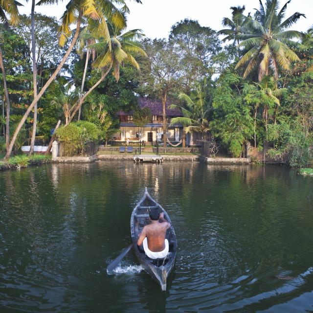 """Chittor Kottaram, Cochin (Kochi), Kerala, South India, India, Asia"" stock image"
