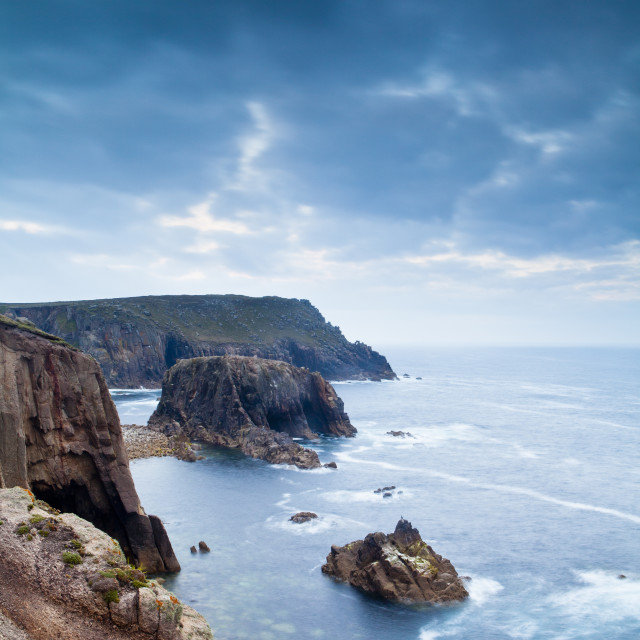 """Land's End, Penzance, Cornwall, United Kingdom"" stock image"