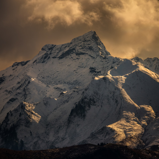 """""""Pindos Greek mountain"""" stock image"""