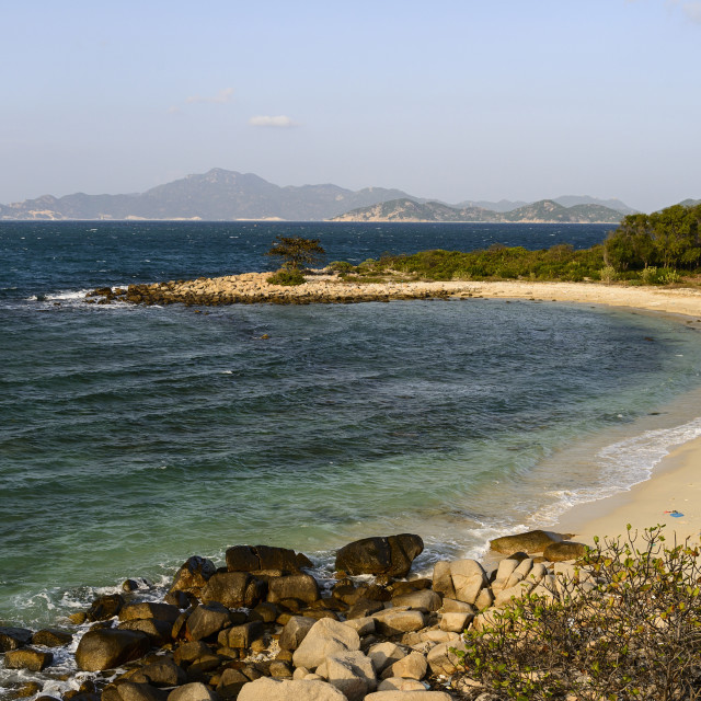 """Nui Cha National Park, Ninh Thuan province, Vietnam, Indochina, Southeast..."" stock image"