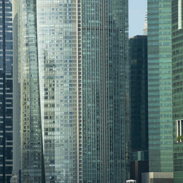 """""""Financial District Singapore"""" stock image"""