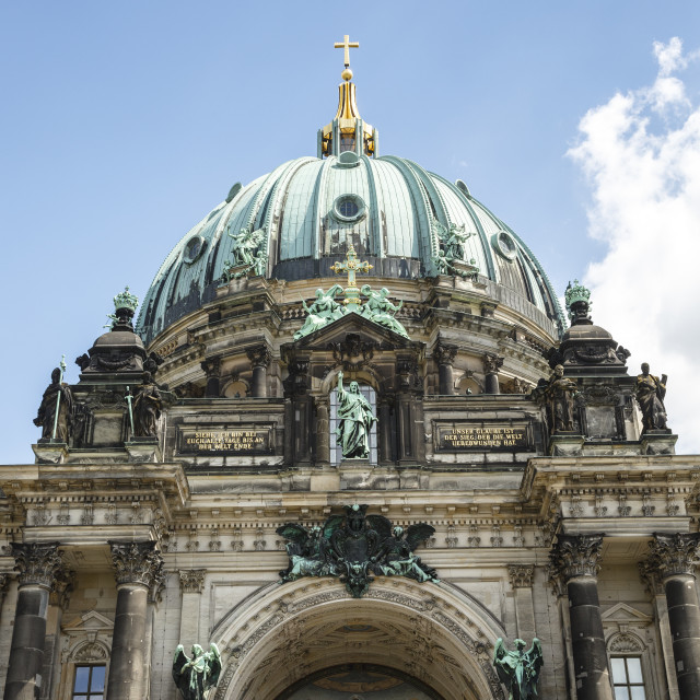 """""""Berliner Dom (Berlin Cathedral), Mitte, Berlin, Germany."""" stock image"""