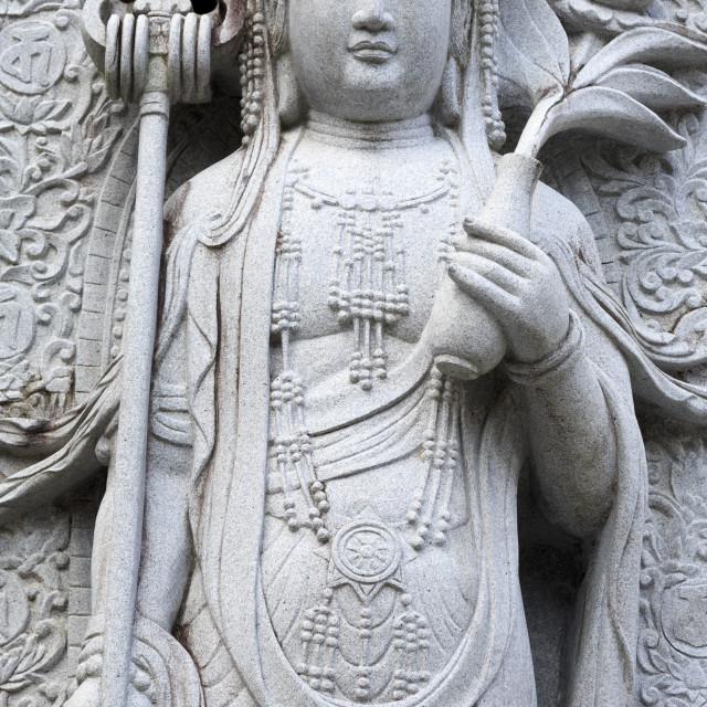 """Anraku Temple, Kochi City, Shikoku Island, Japan, Asia"" stock image"