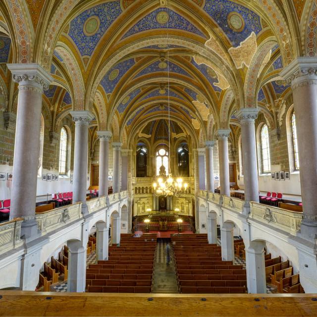 """The Great Synagogue, Pilsen, Czech Republic"" stock image"