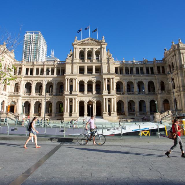 """""""Australia, Queensland, Brisbane, Brisbane Square Buildings"""" stock image"""