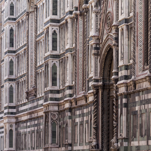 """Basilica di Santa Maria del Fiore otherwise known as the Duomo in Florence,..."" stock image"