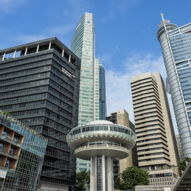 """""""Downtown Central financial district, Singapore, Southeast Asia, Asia"""" stock image"""