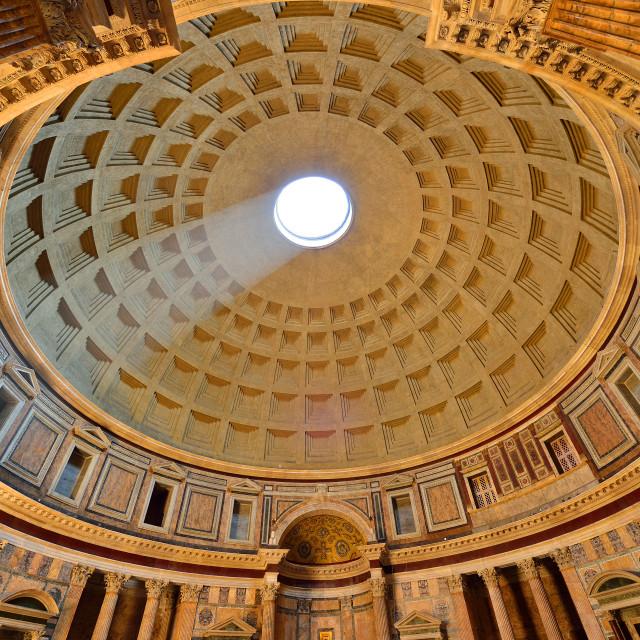 """Pantheon, Rome, Lazio, Italy, Europe"" stock image"