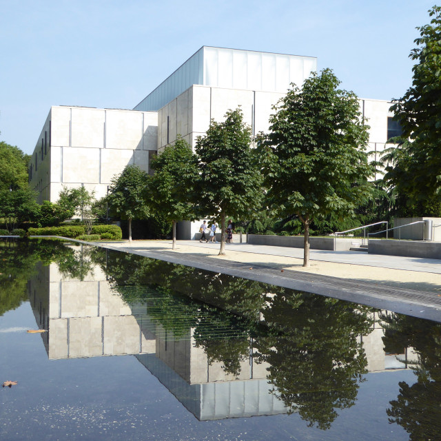 """Barnes Foundation"" stock image"