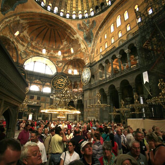 """Aya Sofia mosque, Istanbul, TurkeySeptember 4, 2010{iptc date}20100904"" stock image"