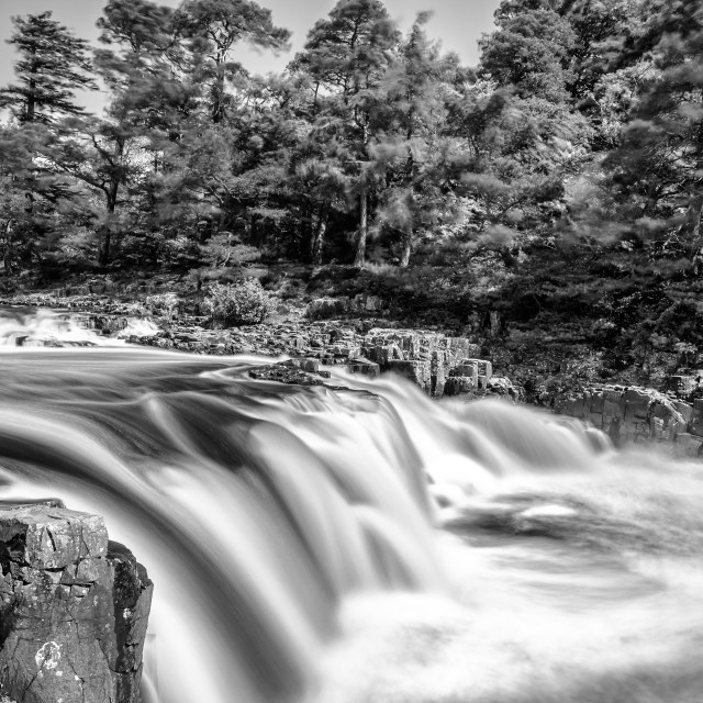"""Low force, bank side."" stock image"