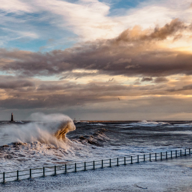"""More from the storm on 13th January. Although I was taking most of my..."" stock image"