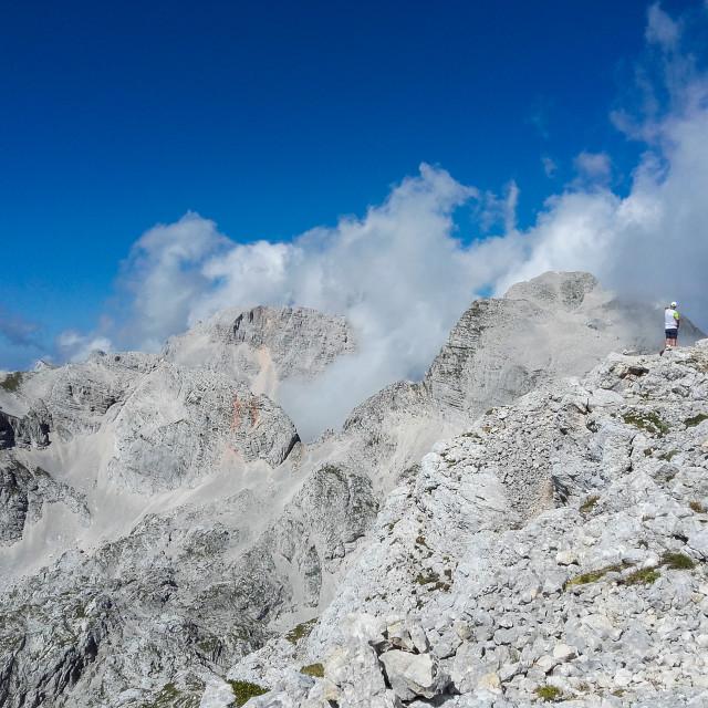"""Julian Alps"" stock image"