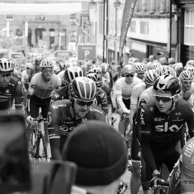 """Tour of Britain 2017 Stage 4"" stock image"