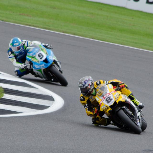 """MCE British Superbikes 2017 Round 9 Silverstone"" stock image"