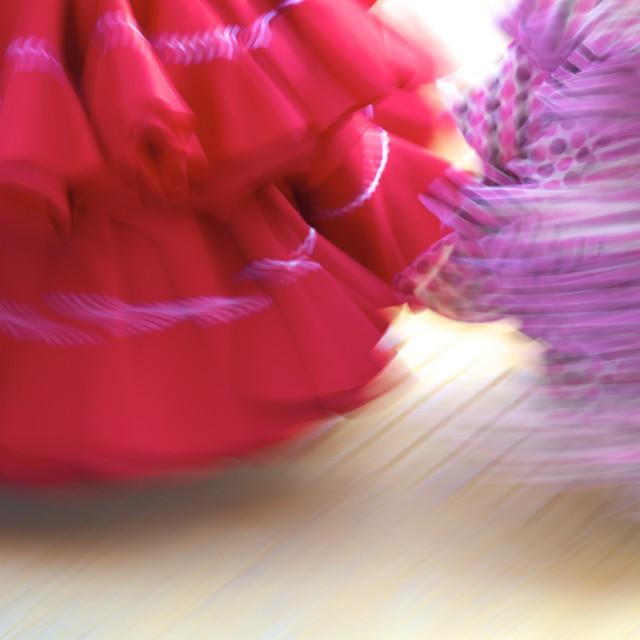 """Flamenco dancers, Jerez de la Frontera, Cadiz Province, Andalusia, Spain, Europe"" stock image"