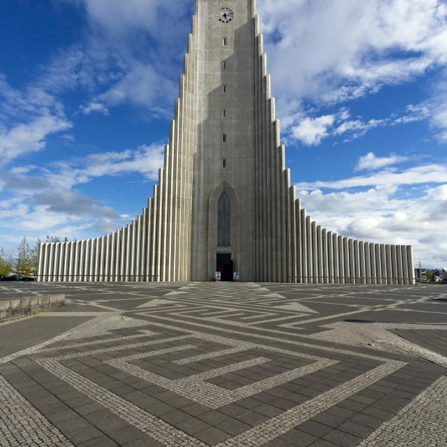 """""""Hallgrimskirkja, Reykjavik, Iceland, Polar Regions"""" stock image"""
