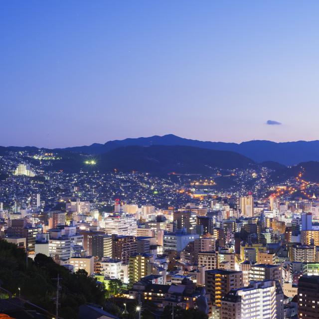 """""""Nagasaki, Kyushu, Japan, Asia"""" stock image"""