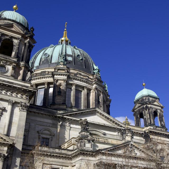 """Berlin Cathedral (Berliner Dom), Berlin, Germany, Europe"" stock image"