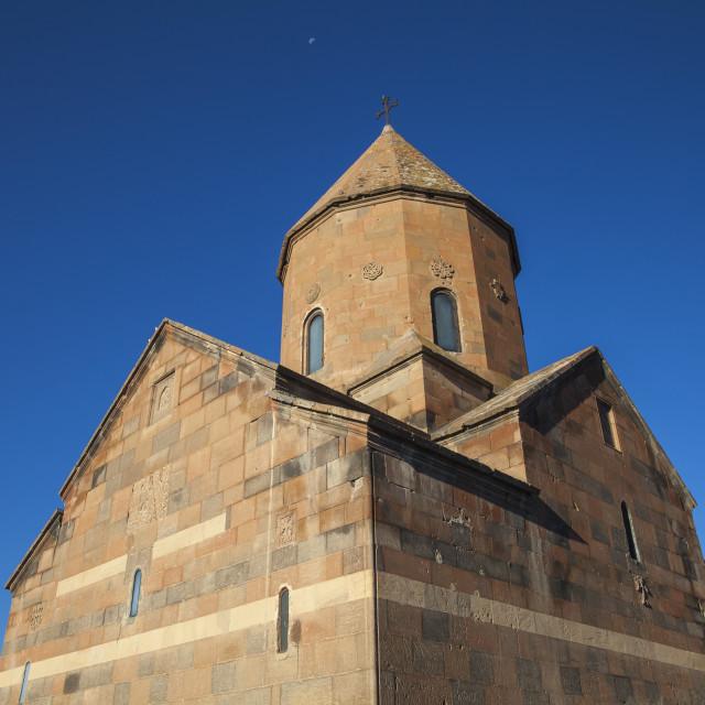 """Khor Virap Armenian Apostolic Church monastery, Ararat Plain, Yerevan,..."" stock image"