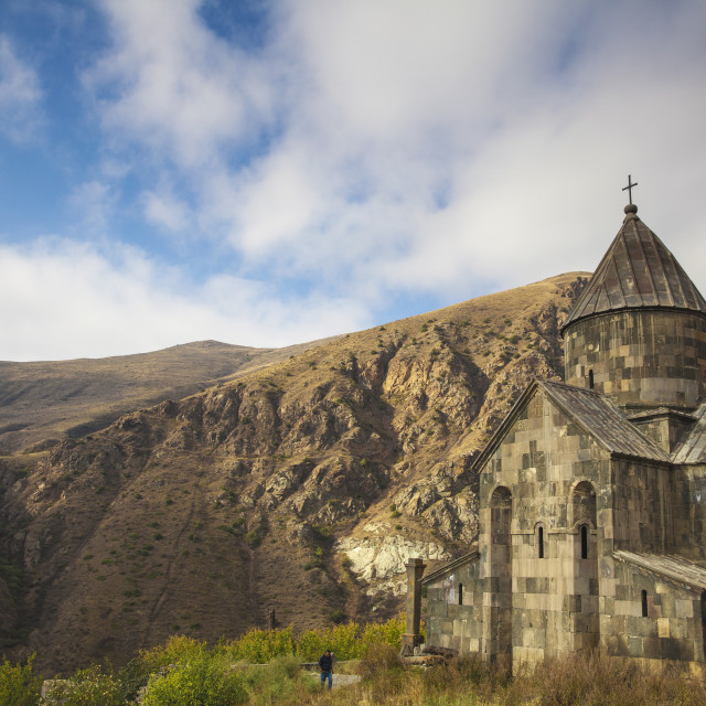 """Vorotnavank ancient fortress and church complex, Sisian, Armenia, Central..."" stock image"