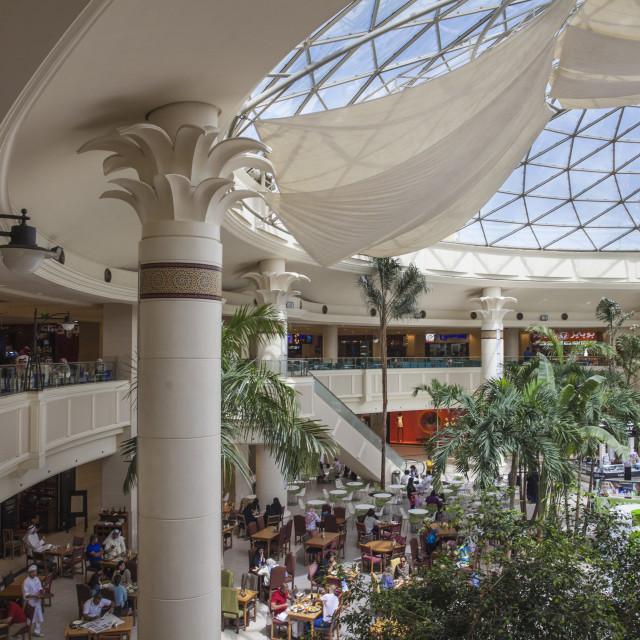 """Marina Mall, Kuwait City, Kuwait, Middle East"" stock image"