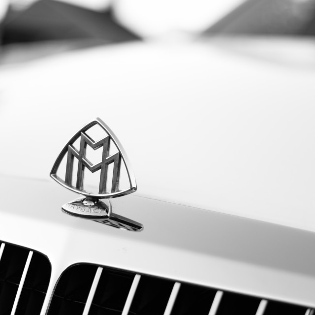 """Mercedes Maybach 1"" stock image"