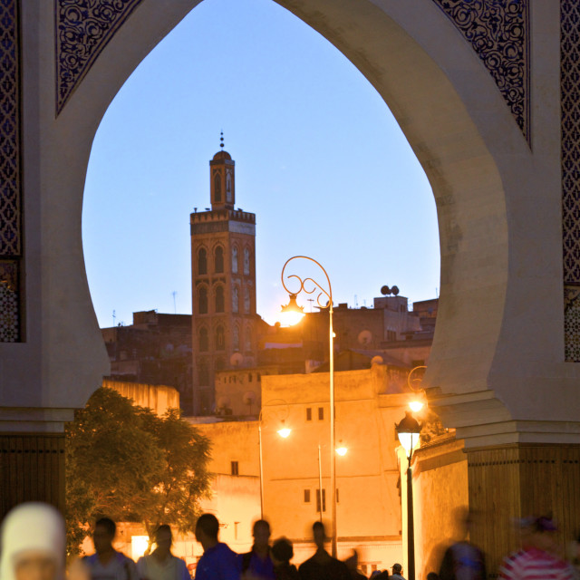 """R'Cif Square (Place Er-Rsif), Fez, Morocco, North Africa, Africa"" stock image"
