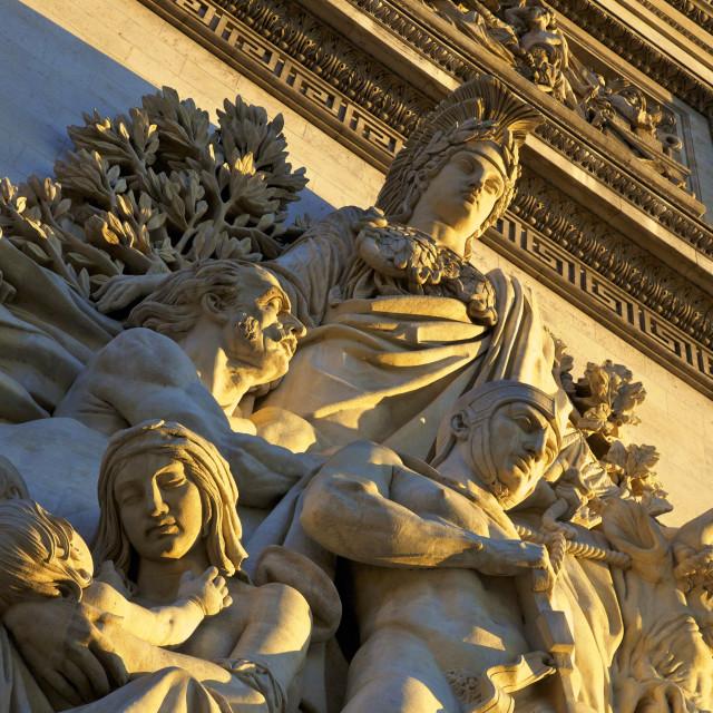 """""""Arc de Triomphe, Paris, France, Europe"""" stock image"""