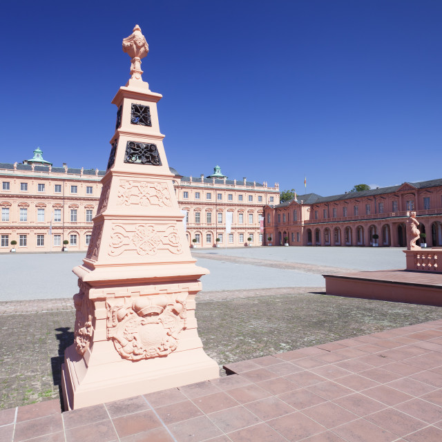 """""""Schloss Rastatt Castle, Rastatt, Black Forest, Baden Wurttemberg, Germany,..."""" stock image"""