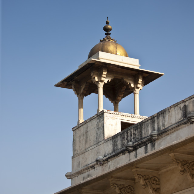 """Khas Mahal Palace built 17th Century by Mughal Shah Jehan for his daughters..."" stock image"