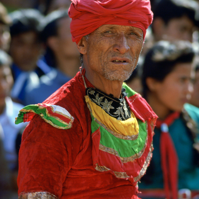 """Dancer, Bhaktapur, Nepal"" stock image"