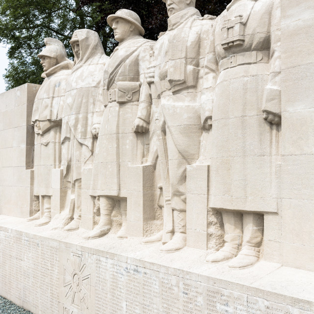 """World War One Monument to the Sons of Verdun in Verdun, Meuse, Lorraine,..."" stock image"