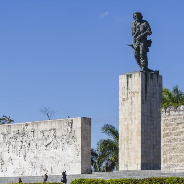 """Che (Ernesto) Guevara mausoleum, Santa Clara, Cuba, West Indies, Caribbean,..."" stock image"