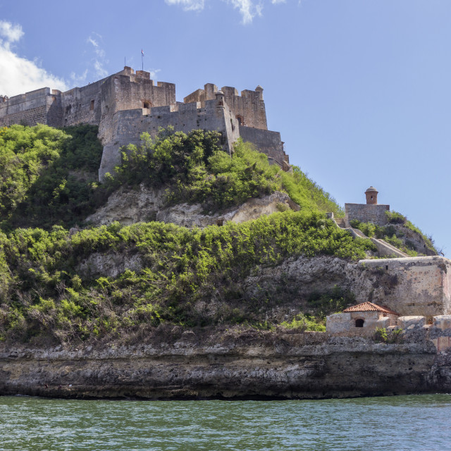 """Morro Fort, Santiago, Cuba, West Indies, Caribbean, Central America"" stock image"